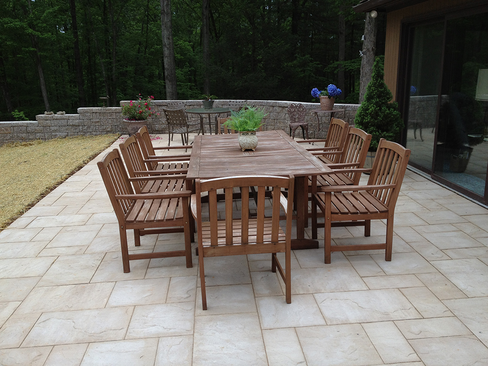 Brown Patio Image