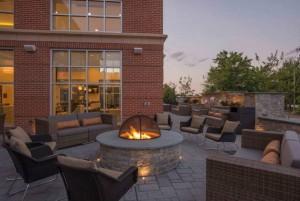 Hilton Homewood Suites Firepit